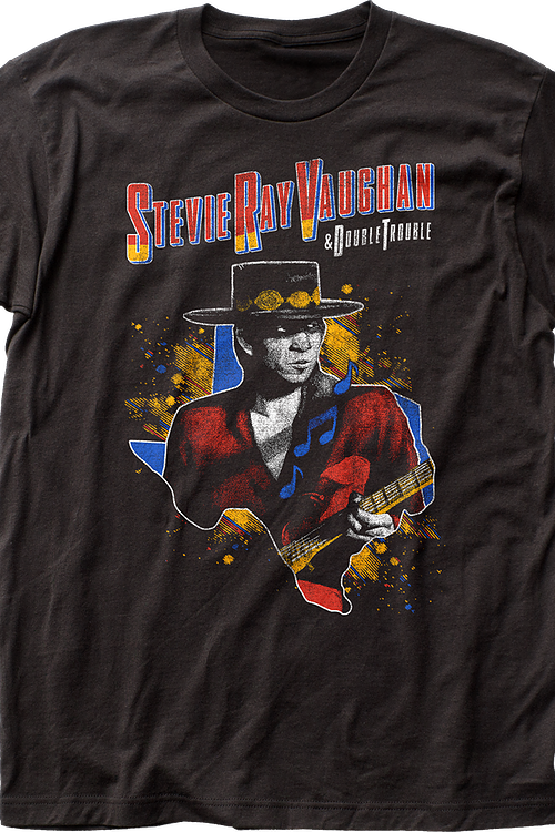 Stevie Ray Vaughan and Double Trouble T-Shirt