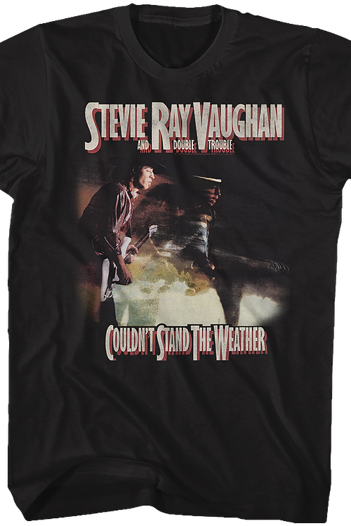 Couldn't Stand The Weather Stevie Ray Vaughan T-Shirt