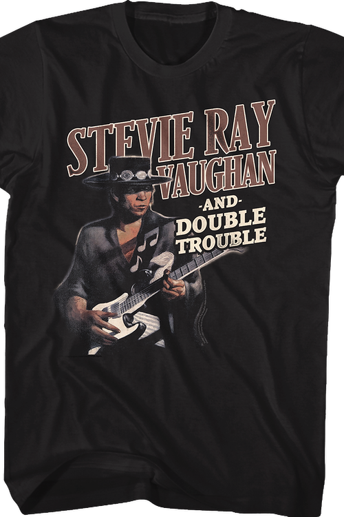 Texas Flood Stevie Ray Vaughan and Double Trouble T-Shirt