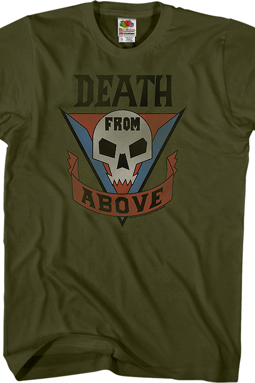 Death From Above Starship Troopers T-Shirt