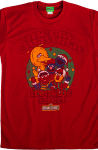 Merry Christmas Sesame Street Shirt
