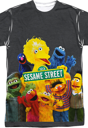 c427f0523fd6 Sesame Street Shirts - Officially Licensed - Free Shipping Available