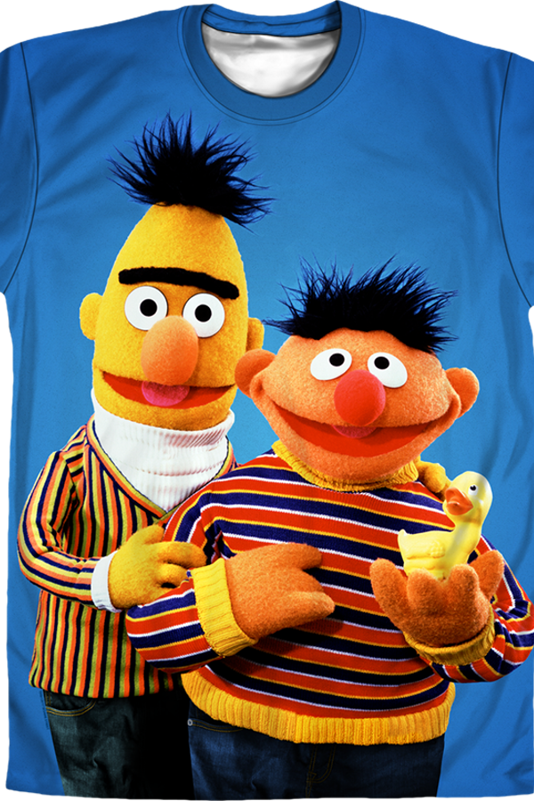 Best Friends Bert and Ernie Sesame Street T-Shirt