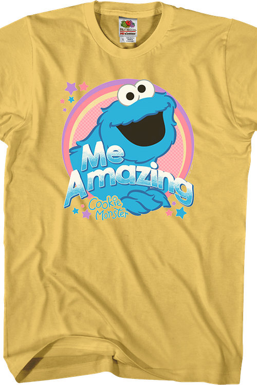 Me Amazing Cookie Monster Sesame Street T-Shirt