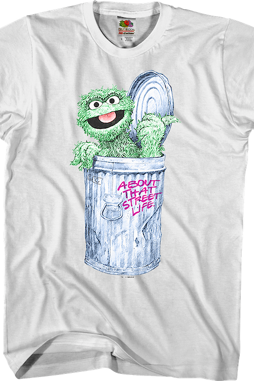 About That Street Life Oscar The Grouch T-Shirt
