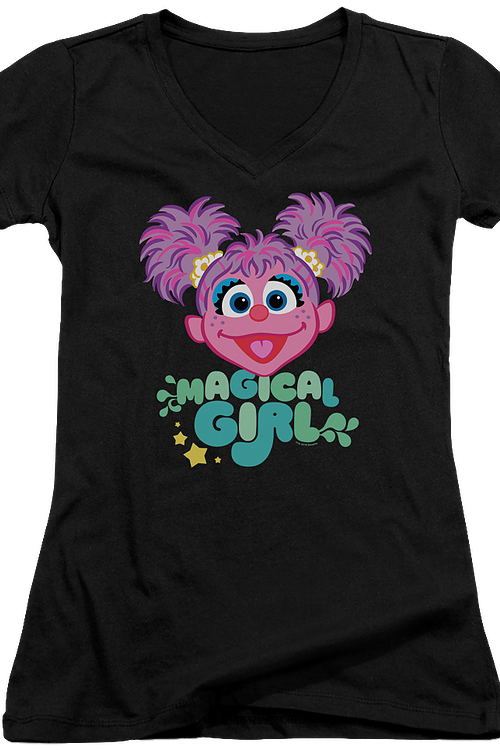 Junior Magical Girl Sesame Street V-Neck Shirt