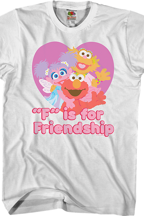 F is for Friendship Sesame Street T-Shirt