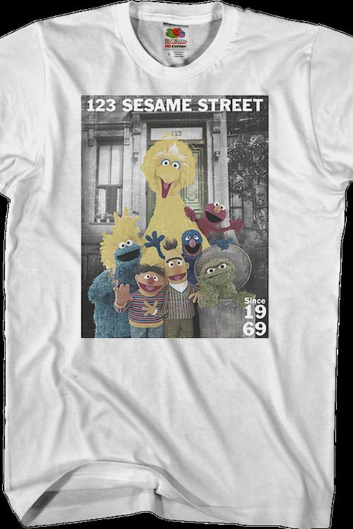 19a38644 123 Sesame Street T-Shirt Men's