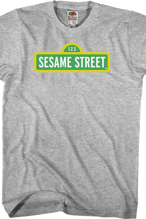 Sign Sesame Street T-Shirt