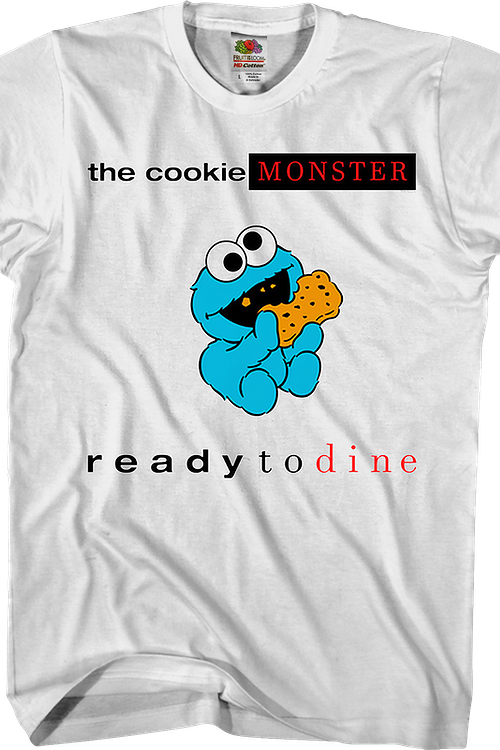 Cookie Monster Ready to Dine Sesame Street T-Shirt