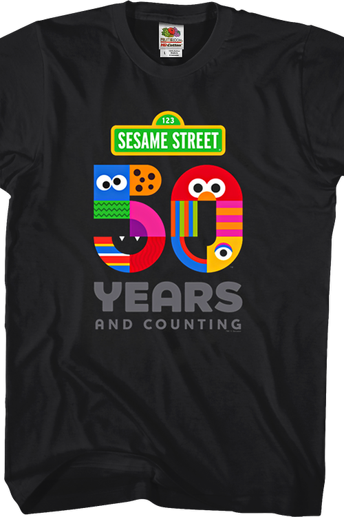 50 Years and Counting Sesame Street T-Shirt