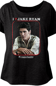 Ladies I Love Jake Ryan Sixteen Candles Dolman Shirt