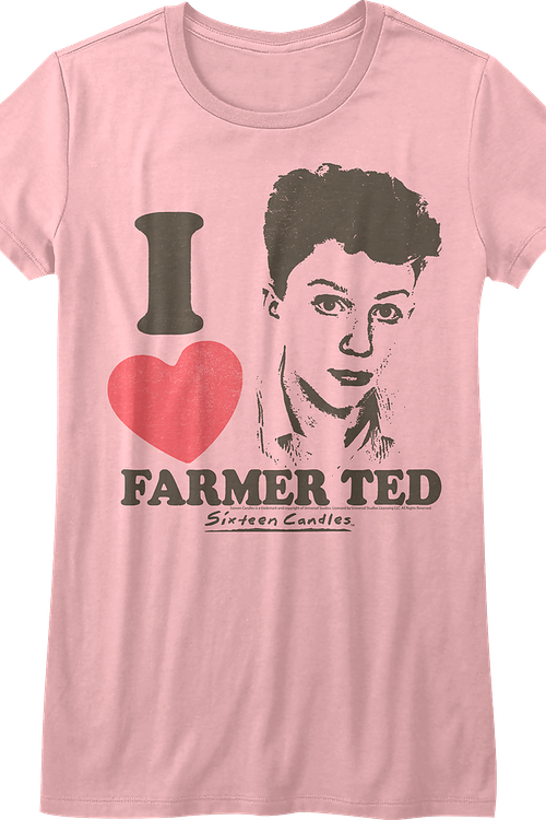 Junior I Love Farmer Ted Sixteen Candles Shirt