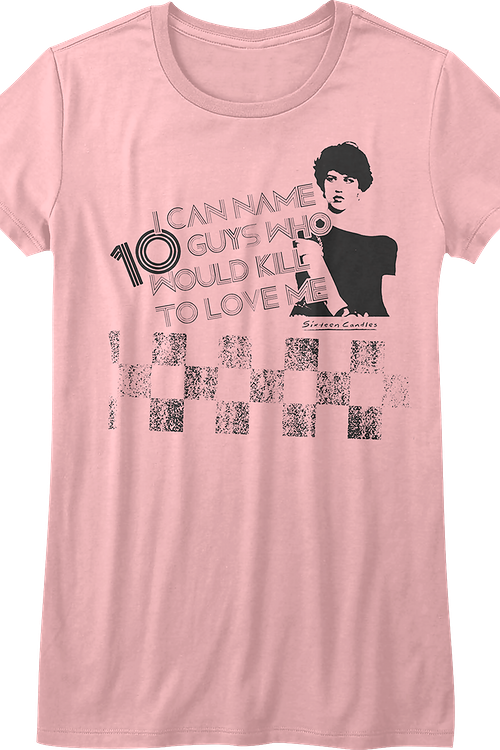 Junior 10 Guys Sixteen Candles Shirt