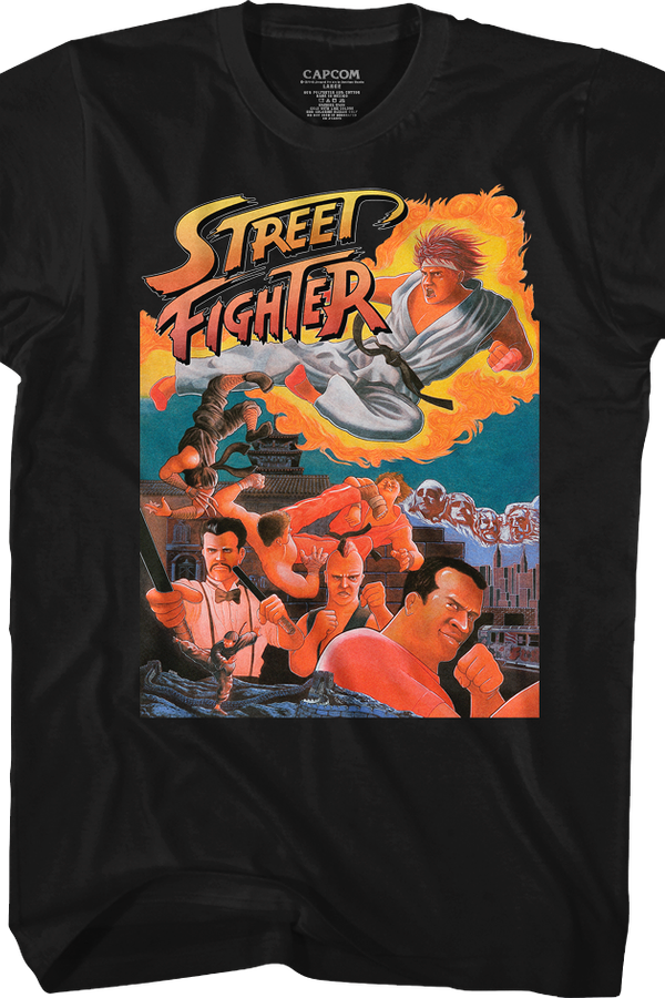 Arcade Flyer Street Fighter T-Shirt