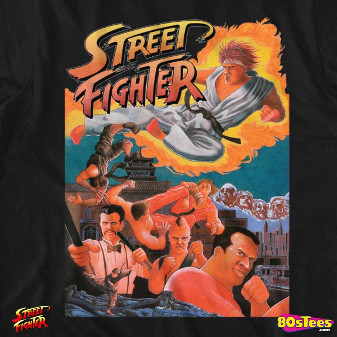 arcade flyer street fighter t