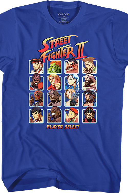 Player Select Street Fighter T-Shirt