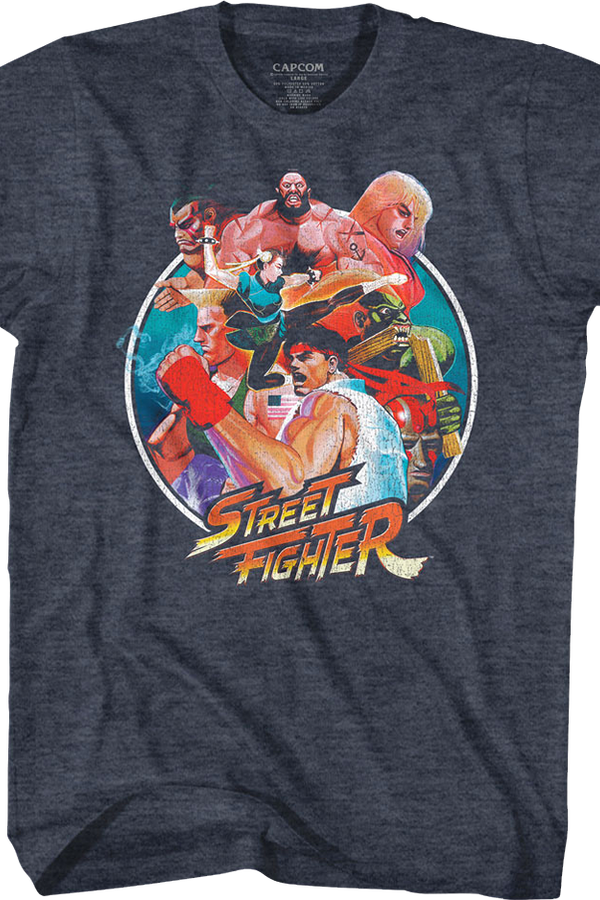 Collage Street Fighter T-Shirt