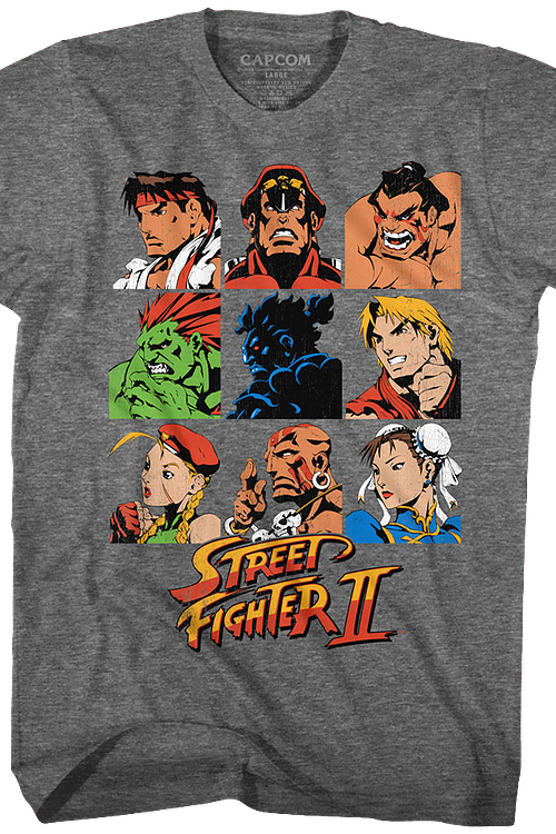 Player Select Street Fighter II T-Shirt