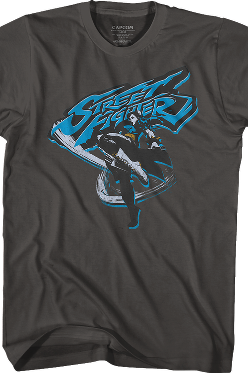 Chun-Li Kick Street Fighter T-Shirt