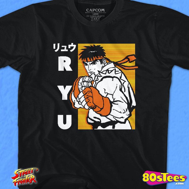 Youth Ryu Japanese Street Fighter Shirt
