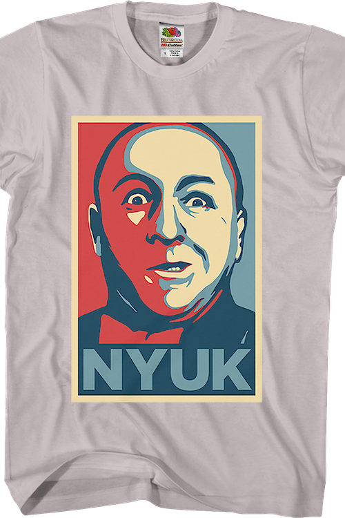 Curly Nyuk Three Stooges T-Shirt