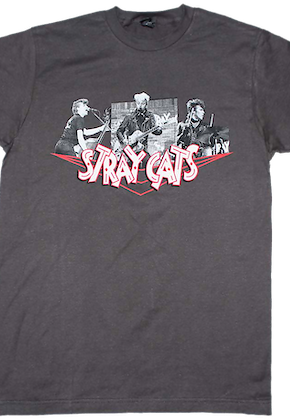 Collage Stray Cats T-Shirt