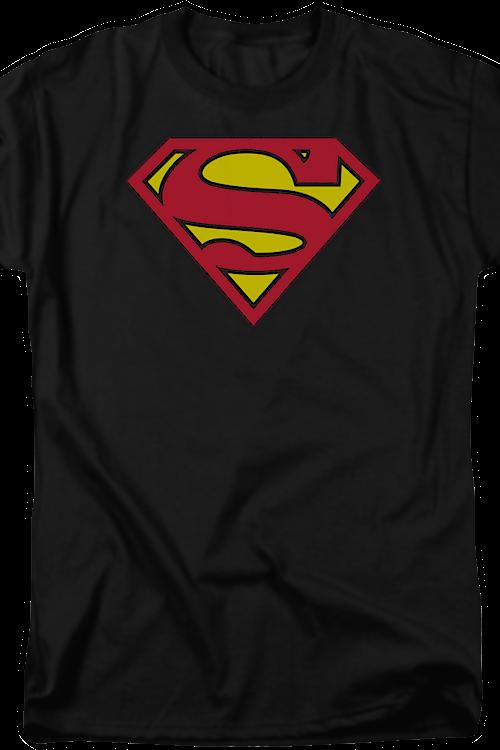 5e21a6053 Black Superman Logo Shirt: DC Comics, Justice League, Superman T-shirt