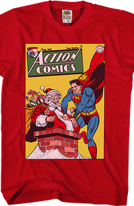 The Man Who Hated Christmas Superman T-Shirt