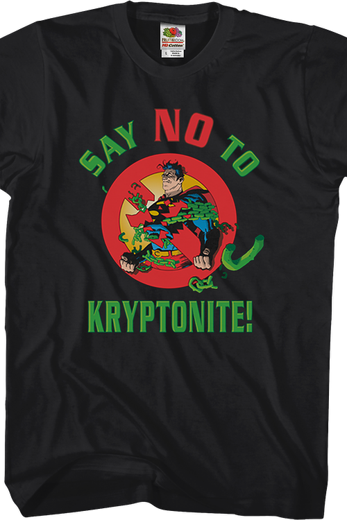 Say No To Kryptonite Superman T-Shirt