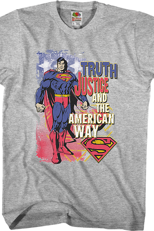 Truth Justice And The American Way Superman T-Shirt