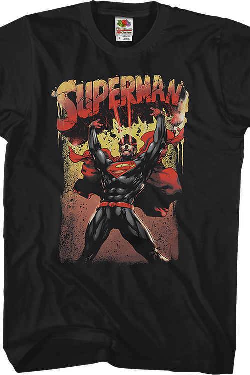 Heat Vision Superman T-Shirt