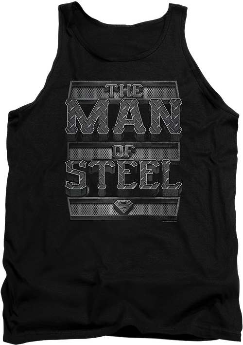 Man of Steel Superman Tank Top