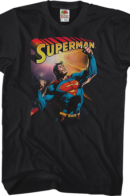Flexing Superman T-Shirt