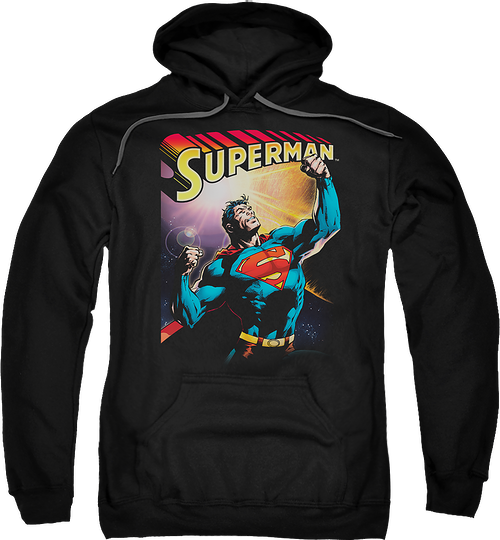 Flexing Superman Hoodie