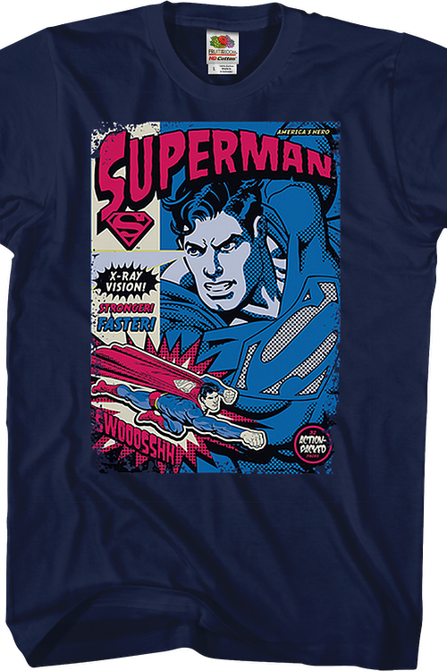 Superman Action-Packed DC Comics T-Shirt