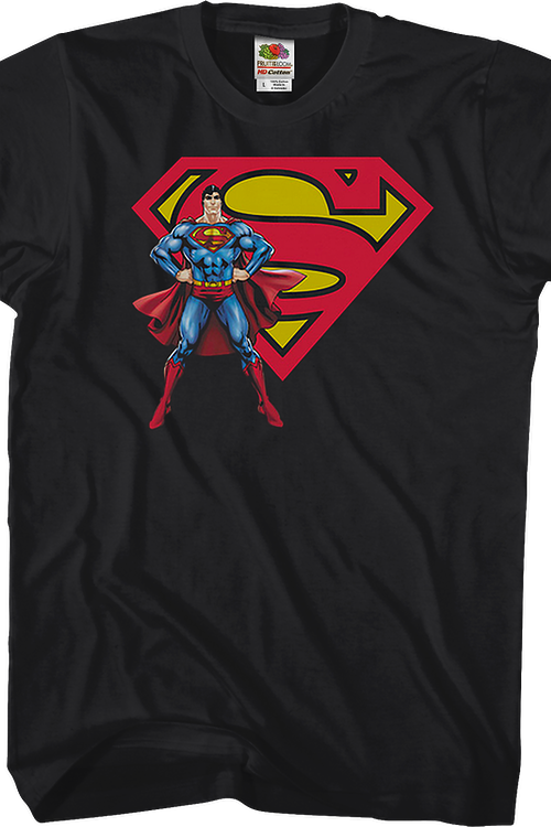 Superman With Logo DC Comics T-Shirt