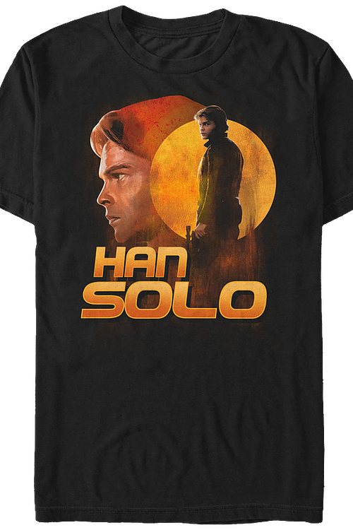 Collage Han Solo Star Wars T-Shirt