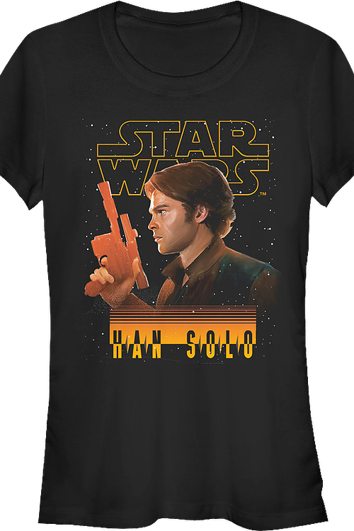Junior Han Solo Star Wars Shirt