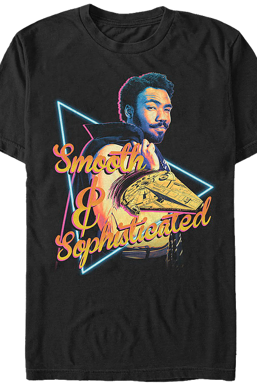 Lando Smooth and Sophisticated Solo Star Wars T-Shirt