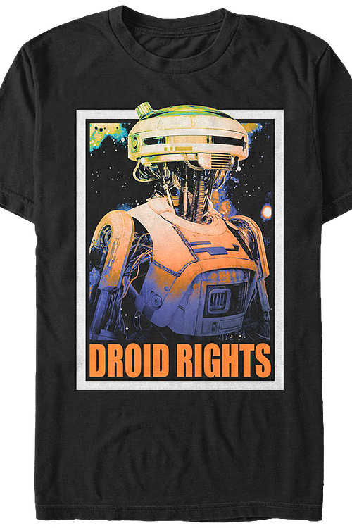 Droid Rights Solo Star Wars T-Shirt