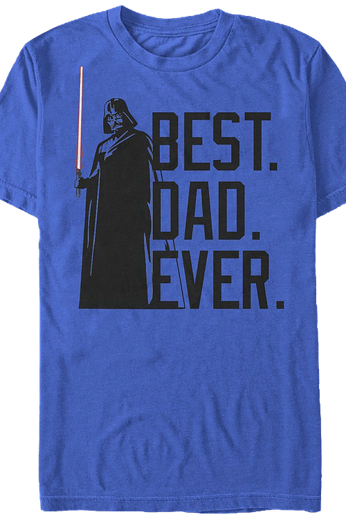 Best Dad Ever Star Wars T-Shirt