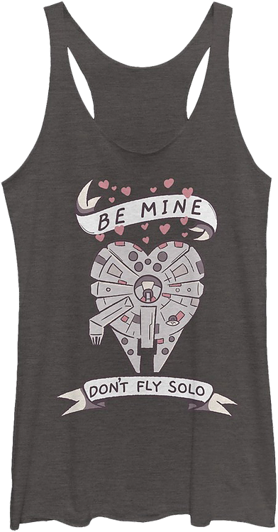Don't Fly Solo Star Wars Racerback Tank Top