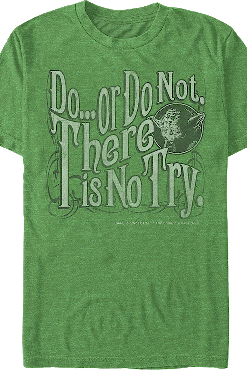Yoda There Is No Try Star Wars T-Shirt
