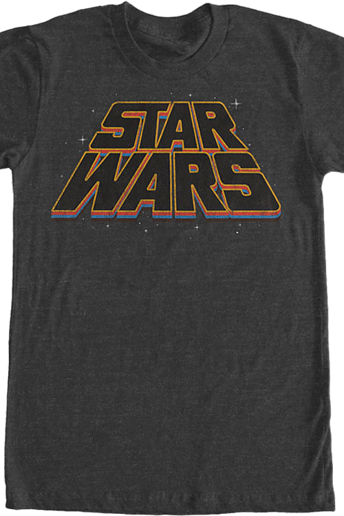Slanted Logo Star Wars T-Shirt
