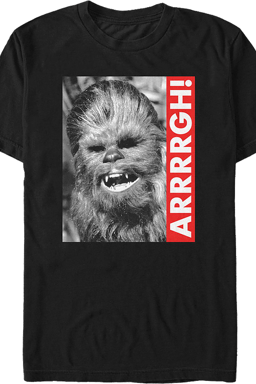 Chewbacca Star Wars Shirt