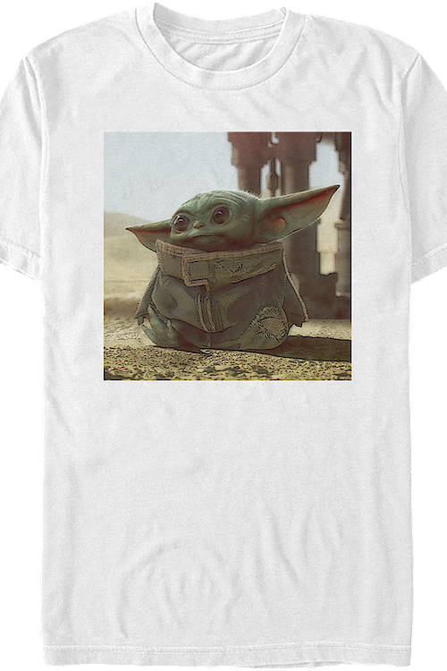 The Child Picture Star Wars The Mandalorian T-Shirt