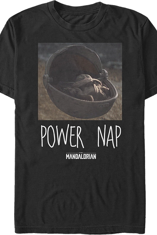 The Child Power Nap Star Wars The Mandalorian T-Shirt
