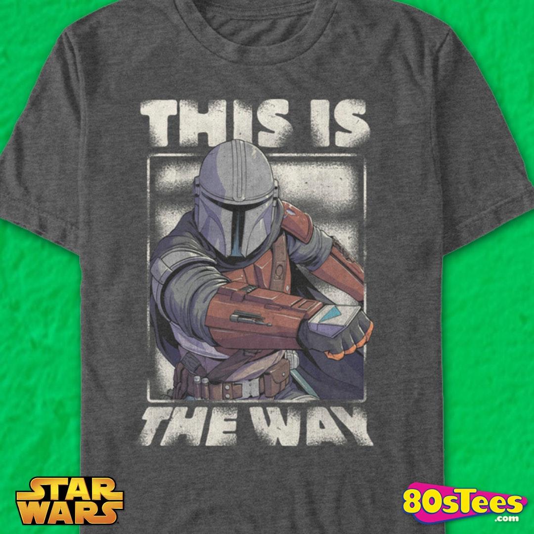 Hayes Design Etc This is The Way Mandoa Mandalorian Mandalore Language Unisex T-Shirt