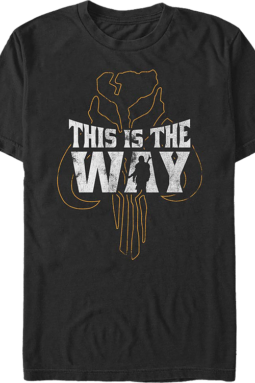 The Mandalorian This Is The Way Star Wars T-Shirt